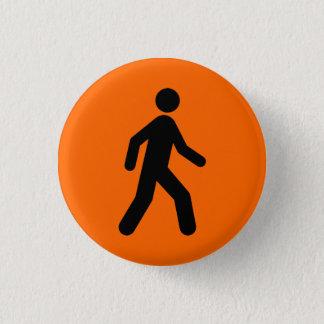 orange you glad 1 inch round button