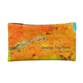 Orange You Pretty Make-Up Bag