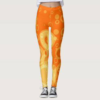 Orange Zest Leggings