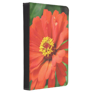 Orange Zinnia Kindle Touch Cover
