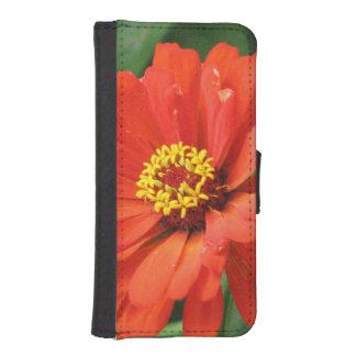 Orange Zinnia iPhone 5 Wallet Case
