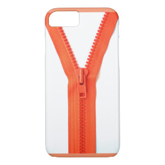 orange-zipper iPhone 7 case