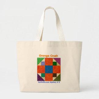 Orangecrush Totebag Large Tote Bag