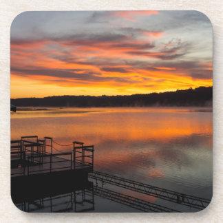 Orangelicious Morning Coaster