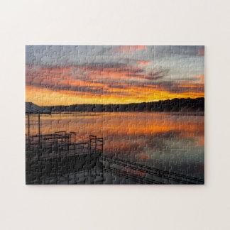 Orangelicious Morning Jigsaw Puzzle