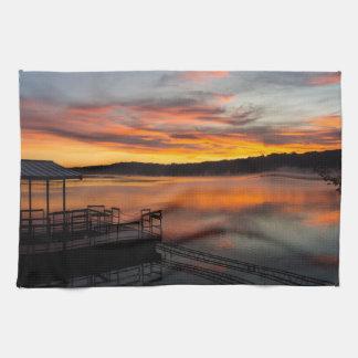 Orangelicious Morning Kitchen Towel