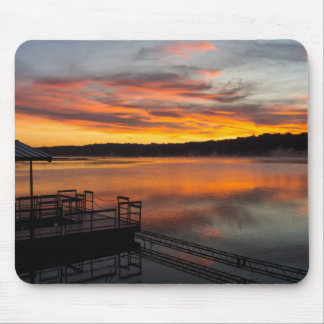 Orangelicious Morning Mouse Pad