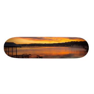 Orangelicious Morning Skateboard Deck