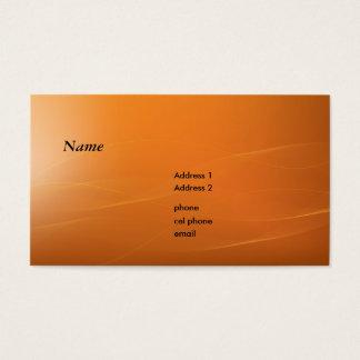 orangeline business card