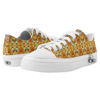 Orangely Low-Top Sneakers