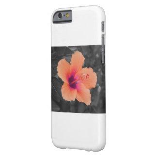 Orangener Hibiskus Barely There iPhone 6 Case