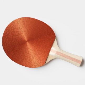 OrangeRed Metallic Ping Pong Paddle