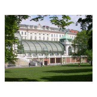 Orangery Burggarten, Vienna Austria Postcard