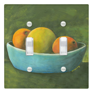 Oranges And Grapefruit Still Life Light Switch Cover