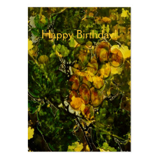 Oranges and Lemons Gift Tag Large Business Cards (Pack Of 100)