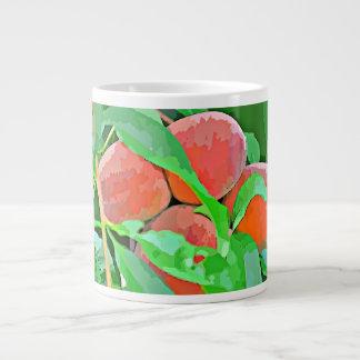 Oranges In Cartoon Coffee Cup