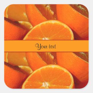 Oranges Square Sticker