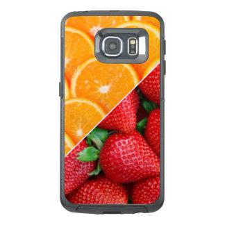 Oranges & Strawberries Collage