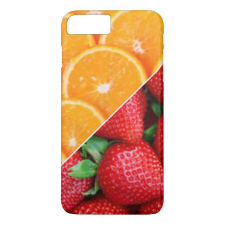 Oranges & Strawberries Collage iPhone 8 Plus/7 Plus Case