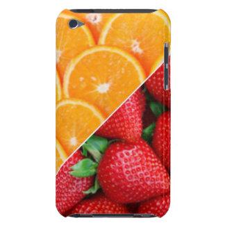 Oranges & Strawberries Collage iPod Case-Mate Case