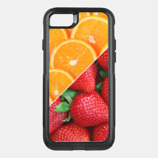 Oranges & Strawberries Collage OtterBox Commuter iPhone 7 Case