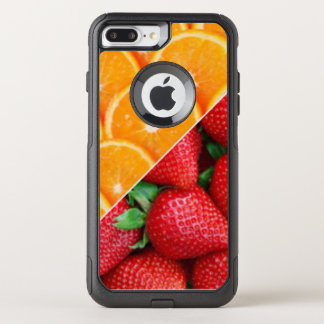 Oranges & Strawberries Collage OtterBox Commuter iPhone 7 Plus Case