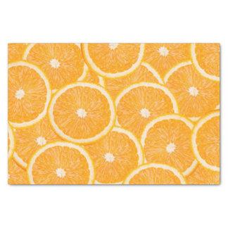 Oranges tissue paper