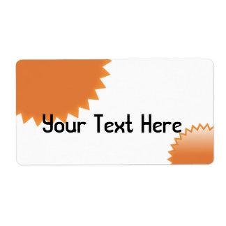 OrangeSeal Étiquettes D'expédition