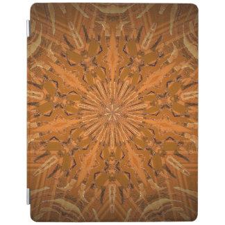 Orangey Fire Kaleidoscope iPad Cover