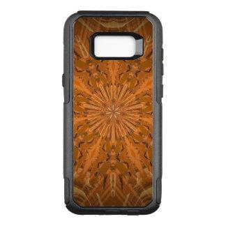 Orangey Fire Kaleidoscope OtterBox Commuter Samsung Galaxy S8+ Case