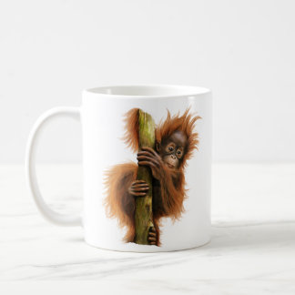 Orangutan 11 oz Classic Mug