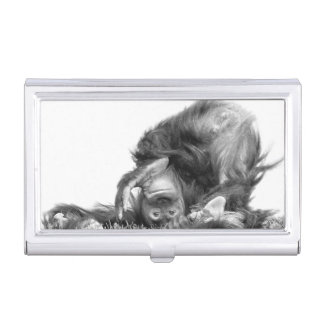 Orangutan#2 Business Card Holder