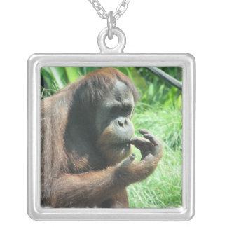 Orangutan Ape Necklace
