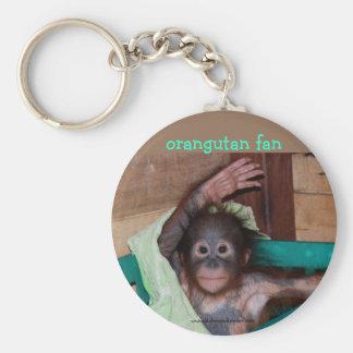 Orangutan at the Sanctuary Keychain