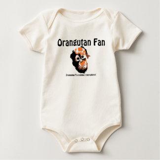 Orangutan Baby Cute Baby Bodysuit