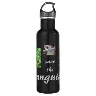 Orangutan Baby Uttuh at OFI 710 Ml Water Bottle