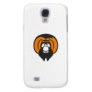 Orangutan Bearded Tussled Hair Retro