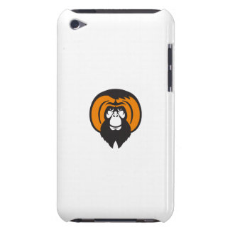 Orangutan Bearded Tussled Hair Retro Case-Mate iPod Touch Case