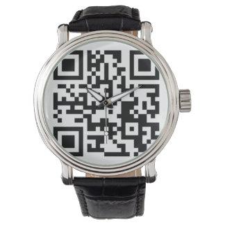Orangutan Foundation QR Code Wristwatches