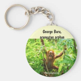 Orangutan George Keychain