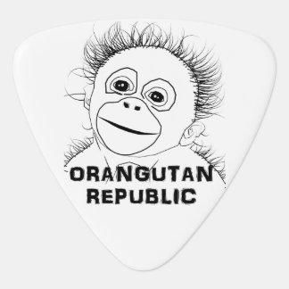 Orangutan Guitar Pick