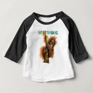 Orangutan  Raglan T-shirt