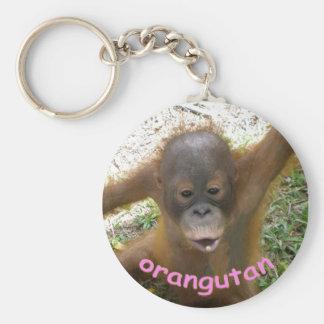 Orangutan Rainforest Snack Keychain