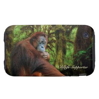 Orangutan & Rainforest Wildlife iPhone 4 Cover