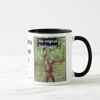 Orangutan Treehugger Mug
