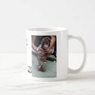 Orangutans OFI Baby Photo Art Coffee Mug