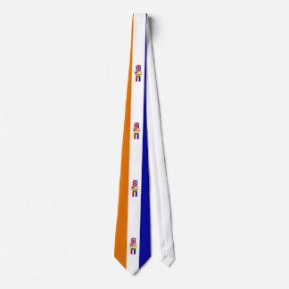 Oranje-Blanje-Blou Das Tie
