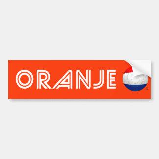 Oranje - Netherlands Football Bumper Sticker