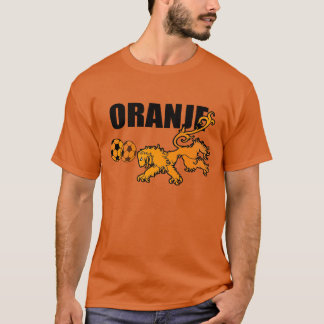 Oranje Persieing Voetbal Netherlands Soccer T-Shirt
