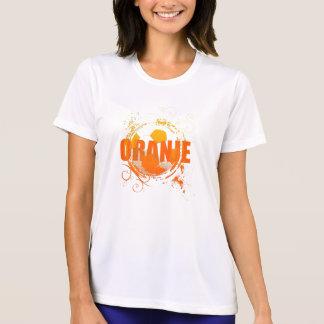Oranje Soccer fans soccer grunge ball gifts T-Shirt